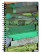 Unemployment Line Spiral Notebook