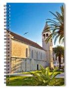 Unesco Town Of Trogir Church View Spiral Notebook
