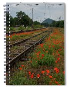 Unexpected Garden Spiral Notebook
