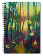 Unexpected Path - Through The Woods Spiral Notebook