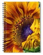 Unfurling Beauty - Cropped Version Spiral Notebook