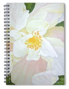 Unfurling White Hibiscus Spiral Notebook