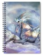 Unicorn Of Peace Spiral Notebook