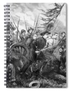 Union Charge At The Battle Of Gettysburg Spiral Notebook