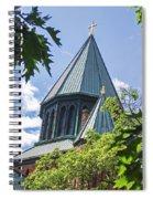 Union Collage Church Spiral Notebook