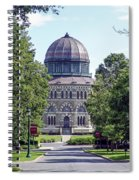 Union Collage New York Spiral Notebook