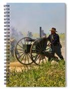 Union Gattling Gun Spiral Notebook