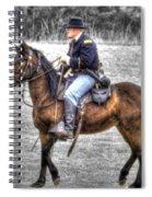 Union Horse Officer Spiral Notebook