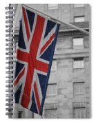 Union Jack Spiral Notebook