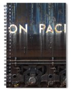 Union Pacific - Big Boy Tender Spiral Notebook