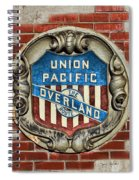 Union Pacific Crest Spiral Notebook