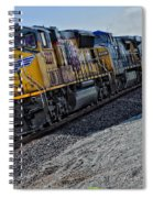 Union Pacific Southbound Spiral Notebook