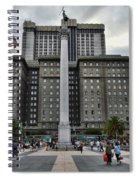 Union Square Courtyard Spiral Notebook
