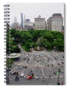 Union Square, N.y.c Spiral Notebook