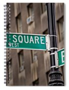 Union Square West I Spiral Notebook