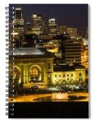 Union Station Kansas City Spiral Notebook