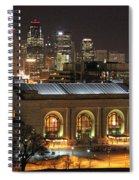 Union Station At Night Spiral Notebook