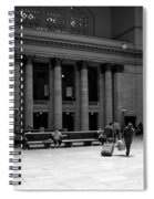 Union Station Chicago The Great Hall Spiral Notebook