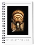 Union Station Dc Poster Spiral Notebook