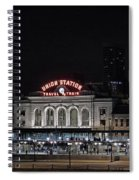 Union Station Denver Colorado 2 Spiral Notebook