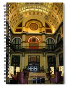 Union Station Lobby-large Size Spiral Notebook