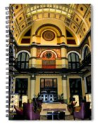 Union Station Lobby Larger Spiral Notebook