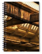 Union Station Roof Beams Spiral Notebook