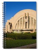Union Terminal, Cincinnati Spiral Notebook