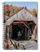Union Village Covered Bridge Thetford Vermont Spiral Notebook
