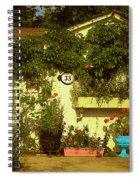 Unionville Summer Home Circa 1880 Spiral Notebook