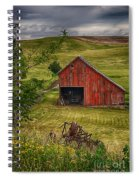 Unique Barn In The Palouse Spiral Notebook