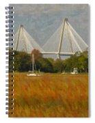 Unique Bridge View Spiral Notebook
