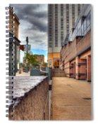 Unique City View Spiral Notebook
