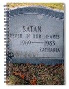 Unique Epitaph Spiral Notebook