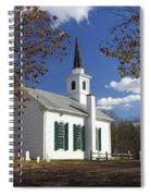 United Methodist Church Waterloo Village Spiral Notebook