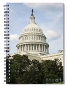 United State Capitol Dome Washington Dc Spiral Notebook