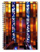 United States Air Force Academy Cadet Chapel Detail Spiral Notebook