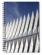 United States Airforce Academy Chapel Colorado Spiral Notebook
