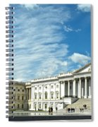 United States Capitol Spiral Notebook