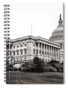 United States Capitol Senate Wing Spiral Notebook