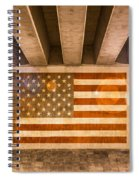 United States Flag Spiral Notebook