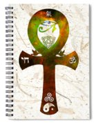 Unity 11 - Spiritual Artwork Spiral Notebook