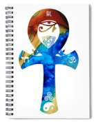 Unity 15 - Spiritual Artwork Spiral Notebook