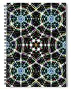 Universal Web Matrix Spiral Notebook