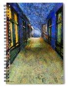 Universe Alley Spiral Notebook