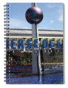 Universe Of Energy Spiral Notebook