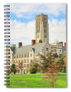 University Hall University Of Toledo 9206 Spiral Notebook