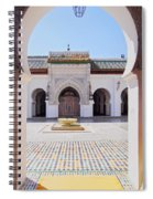 University Of Al-karaouine In Fes In Morocco Spiral Notebook