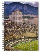 University Of Colorado Boulder Go Buffs Spiral Notebook