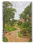 University Of North Alabama Campus Spiral Notebook